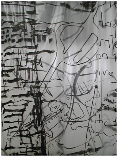 alles was da ist gehört dazu (HELP ME THINK), 15. 12. 2007, Wolfgang Kschwendt, exhibitionview 4