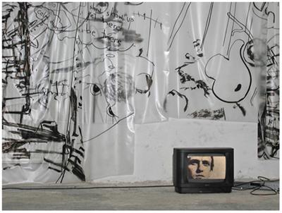 alles was da ist gehört dazu (HELP ME THINK), 15. 12. 2007, Wolfgang Kschwendt, exhibitionview 5