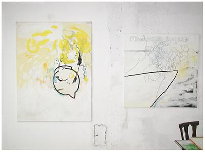 alles was da ist gehört dazu (HELP ME THINK), 15. 12. 2007, Wolfgang Kschwendt, exhibitionview 8