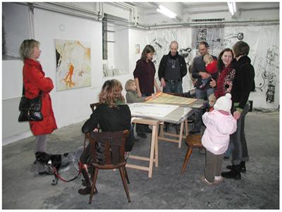 alles was da ist gehört dazu (HELP ME THINK), 15. 12. 2007, Wolfgang Kschwendt, exhibitionview 13