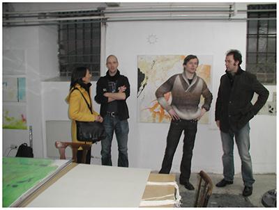 alles was da ist gehört dazu (HELP ME THINK), 15. 12. 2007, Wolfgang Kschwendt, exhibitionview 14