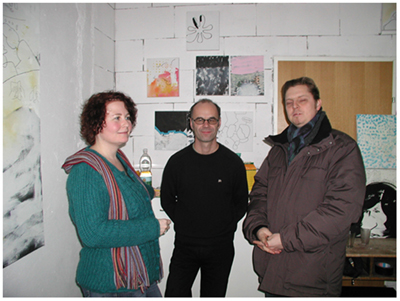 alles was da ist gehört dazu (HELP ME THINK), 15. 12. 2007, Wolfgang Kschwendt, exhibitionview 15