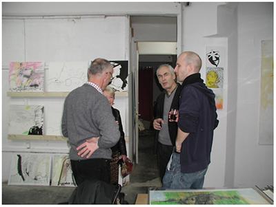 alles was da ist gehört dazu (HELP ME THINK), 15. 12. 2007, Wolfgang Kschwendt, exhibitionview 16