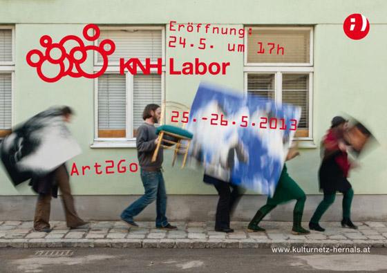 Kulturnetz Hernals - Art2Go - Flyer