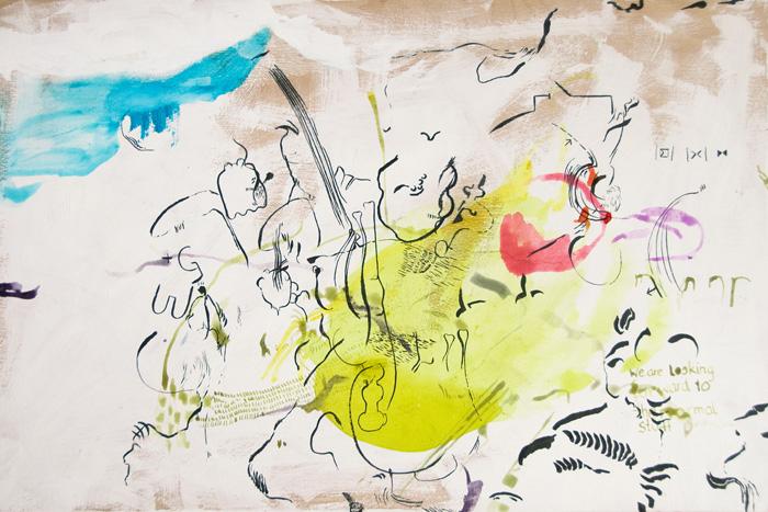 Original artwork by Wolfgang Kschwendt